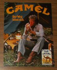 Seltene Werbung CAMEL FILTER - Der Weg lohnt sich #3 1980