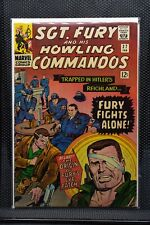 Sgt Fury and His Howling Commandos #27 Marvel Silver Age Comic 1966 Stan Lee 6.5