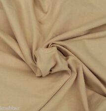 Khaki Cotton Spandex Fabric Jersey Knit by the Yard 4 Way Stretch 1/16/15