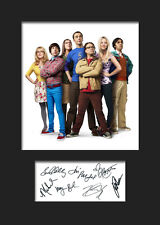 THE BIG BANG THEORY #1 A5 Signed Mounted Photo Print (RePrint) - FREE DELIVERY