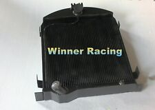 Fit Ford Model A 1928-1929 28 29 aluminum radiator 74mm 3 Rows NO COOLANT LOST
