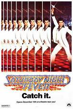 SATURDAY NIGHT FEVER Movie POSTER 27x40 B John Travolta Karen Gorney Barry