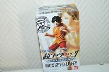 FIGURINE SUPER ONE PIECE STYLING  MONKEY-D-LUFFY MARINE FORD BANDAI NEUF FIGURE
