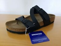Birkenstock Salina Birko-Flor Black Women's Sandal - NEW - Choose Size