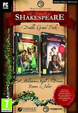 The Chronicles of Shakespeare (Double Game Pack) (PC DVD) BRAND NEW SEALED