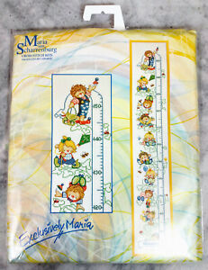 Lanarte Maria Van Scharrenburg Baby Shower Growth (29410) Cross-Stitch New