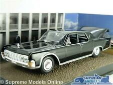 LINCOLN CONTINENTAL MODEL CAR 1:43 SCALE EAGLEMOSS IXO JAMES BOND GOLDFINGER K8