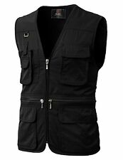 Mens Vest, Fashion, Casual, Work, Hunting, Travels, Sports, Multiple Pockets