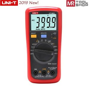 UNI-T UT136C+ Handheld Digital Multimeter Auto AC/DC DMM 40MΩ 40mF Temp tester