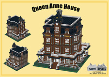 Custom instruction, consisting of LEGO elements - Queen Anne House