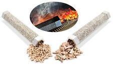 12inch Pellet Hexagon Smoker Tube in Any Grill Hot Smoking Pork with Wood Pellet