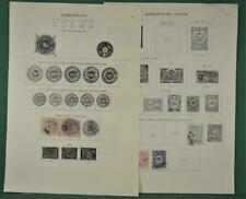 AFGHANISTAN STAMPS SELECTION ON 4 ALBUM PAGES  (K41)
