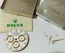 NOS RARE ROLEX DAYTONA DIAL AND HANDS 116528 116523 116520 WITH BOX