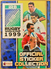 """ULTRA RARE !!! Album Incomplete """"RUGBY WORLD CUP 1999"""" PANINI MERLIN"""