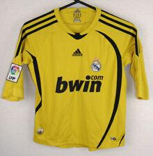 2008-2009 Real Madrid Adidas Goalkeeper Football Shirt Jersey Medium Boys