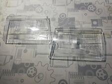 2 x Mercedes 107 SL SLC H4 Scheinwerfer Streuscheibe Glas Bosch links rechts neu