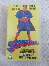 SUPERMAN The origional adventures of the worlds first supehero, VHS