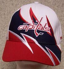 Embroidered Baseball Cap Sports NHL Washington Capitals NEW 1 size fit al Reebok