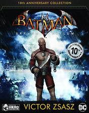 Dc Batman Arkham Asylum Figurine Collection #6 Zsasz Eaglemoss