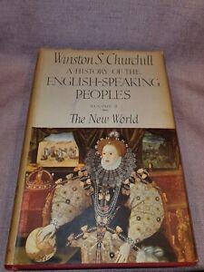 Vintage Winston S Churchill Inglés Decir Personas Nuevo Mundo En Buen Estado
