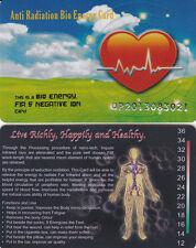 !! 10 STÜCK !! Bio Ionen Energie Karten 3000 -IONEN !! SONDERANGEBOT !!