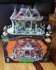 Lemax Spooky Town, Phantom Station, Exterior Lighted Building, Musical 85661