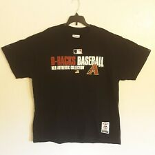 Authentic Majestic Xl M.L. Arizona D-Backs. Baseball pullover shor 00006000 t sleve jersey