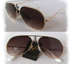 c38c00dd0185 New Versace 19V69 Martina Sunglasses Rose Gold/Brown w/ white handles