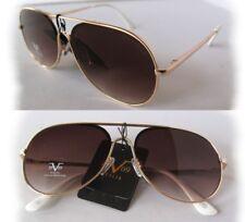 c64d3c0e4cc4a New Versace 19V69 Martina Sunglasses Rose Gold Brown w  white handles
