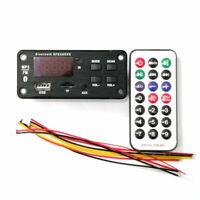 FM Radio Car Bluetooth 5.0 Speaker Module MP3 Decoder Board Music voiture bureau