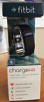 NEW Fitbit Charge HR Wireless Activity Sleep Wristband Black Plum