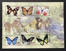 GRENADA BUTTERFLY STAMPS SHEET 2005 MNH SWALLOWTAIL BUTTERFLIES INSECT WILDLIFE