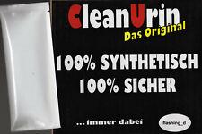 2 x CLEANU clean urin Beutel 25ml Fake synthetic Urine NEU ** SONDERPREIS !!! **
