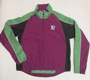 NWT PEARL IZUMI Run Ultra Jacket Waterproof Lightweight Women/'s Purple Pink M