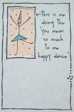 """""""I'm Doing the 'You Mean So Much to Me' Happy Dance"""" RPG Funny BIRTHDAY CARD"""