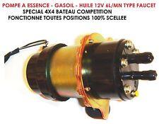 SPECIAL TRUCK CAMION DEPANNEUR! POMPE A ESSENCE GASOIL 12V 300L/H INDISPENSABLE