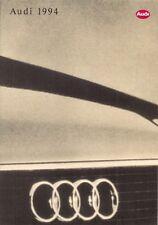 Audi 1993-94 UK Market Sales Brochure 80 Coupe Cabriolet 100