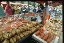 714011 Fish Market Bergen Norway A4 Photo Print