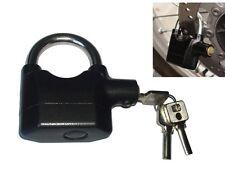 Siren Padlock Alarm  110dB Tamper Proof 10mm Shackle
