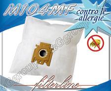 M104MF 5 sacchetti filtro microfibra x Miele Silverstar