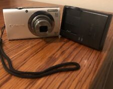 Canon PowerShot A2300 HD 16MP Digital Camera Silver Pc1732 Tested Works Great!