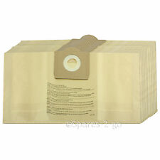 20 x Vacuum Cleaner Dust Bags For PARKSIDE LIDL Canister Hoover 30 Litre Tub