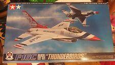 """Tamiya 1/48 F-16C (Block 32/52) - """"Thunderbirds"""" Model Air Plane Kit  #61102"""