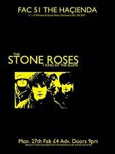 "The Stone Roses Hacienda 16"" x 12"" Photo Repro Concert Poster"