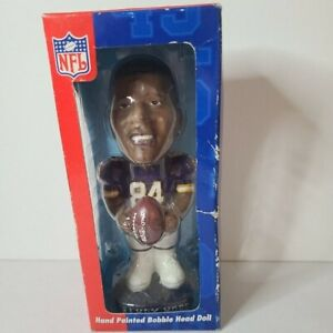 MN Vikings Randy Moss Collectible Bubble head doll Genuine Hand Painted