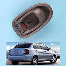New Gray Inside Inner Door Handle Front Rear Left For 1996-2000 Hyundai Elantra