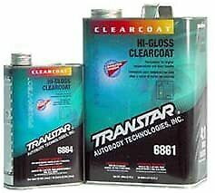 Transtar HI -Gloss Acrylic Urethane Clearcoat 6861 &  Activator 6874 OR 6894