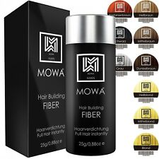 MOWA® Hair Fiber Haarverdichter Schütthaar Füllhaar Streuhaar Haarpulver PREMIUM
