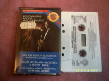 WINTON MARSALIS BAROQUE MUSIC FOR TRUMPETS CASSETTE