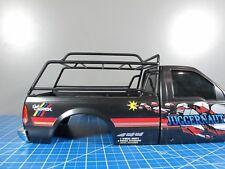 Black Metal Cargo Roof Tamiya RC 1/10 Ford F350 Juggernaut 1 2 Truck High Lift